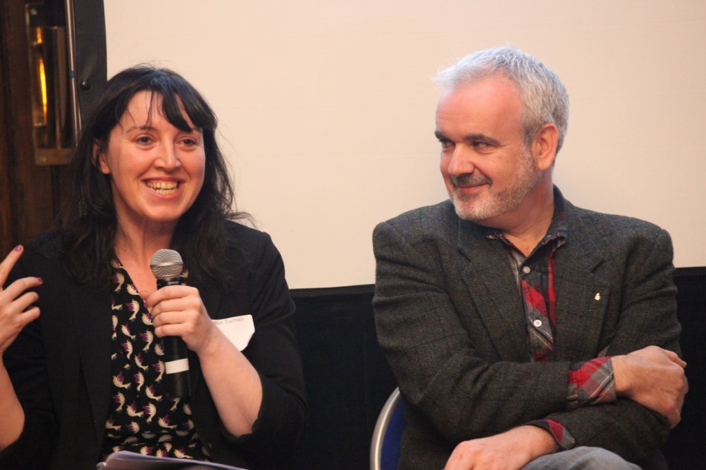 Eleanor Tiernan and Colm O'Gorman